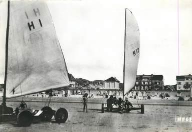 """/ CPSM FRANCE 80 """"Fort Mahon plage, aéroplages et front de mer """""""