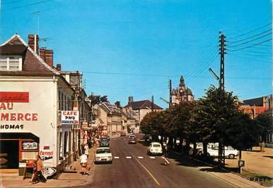 """/ CPSM FRANCE 80 """"Rue, la rue principale"""""""