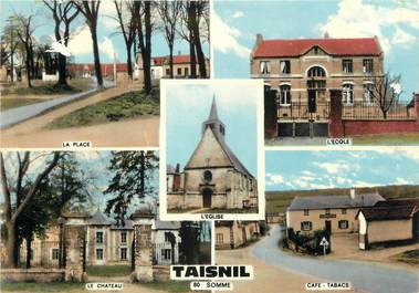 """/ CPSM FRANCE 80 """"Taisnil"""""""
