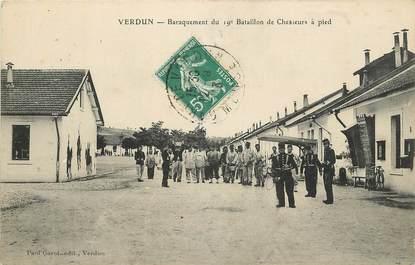 """CPA FRANCE 55 """"Verdun, bataillon de chasseurs à pied"""""""