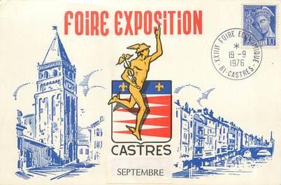 """/ CPSM FRANCE 81 """"Castres, foire exposition"""""""