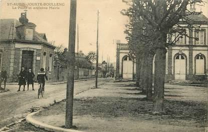 """CPA FRANCE 76 """"Saint Aubin Jouxte Boulleng, la Poste"""""""