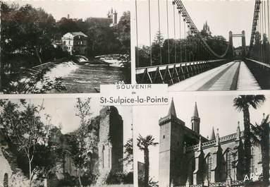 """/ CPSM FRANCE 81 """"Saint Sulpice La pointe """""""