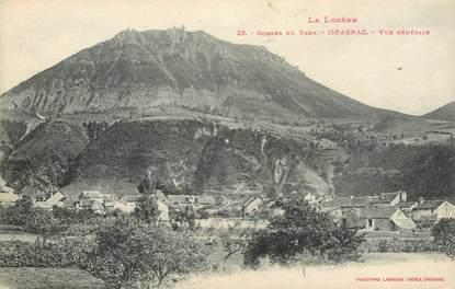 """.CPA  FRANCE  48 """" Ispagnac, Gorges du Tarn , Vue Générale"""""""