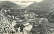 """48 Lozere .CPA FRANCE  48 """" Florac, Vue générale et Pont de la Bésséde"""""""