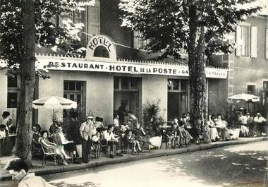 ".CPSM FRANCE  48 ""Marjevols, Hôtel de la Poste"""