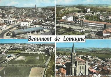 "/ CPSM FRANCE 82 ""Beaumont de Lomagne """