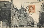"""68 Haut Rhin CPA FRANCE 68 """"Colmar, avenue de la République, la Poste"""" / TRAMWAY"""
