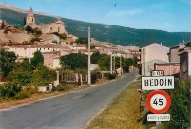 "/ CPSM FRANCE 84 ""Bedoin, l'entrée du village"""
