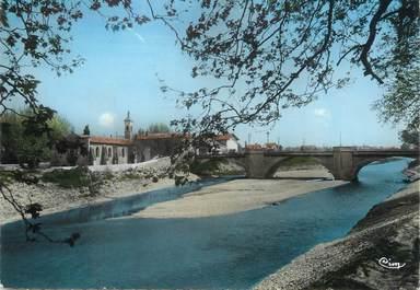 """/ CPSM FRANCE 84 """"Bollène, le pont sur le Lez"""""""
