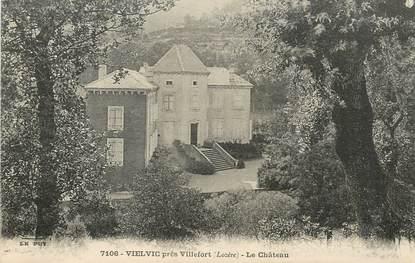 ".CPA FRANCE  48 ""Vielvic, le Château"""