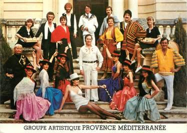 """/ CPSM FRANCE 84 """"Sarrians"""" / GROUPE ARTISITIQUE"""