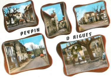 """/ CPSM FRANCE 84 """"Peypin d'Aigues"""""""