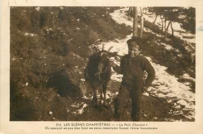 """.CPA FRANCE  48, Les Scènes Champêtres, le petit chevrier """""""