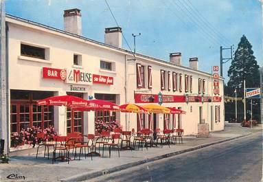 "CPSM FRANCE 85 ""Avrillé, hôtel restaurant chez Tintin"""