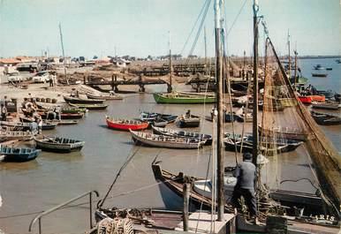 """CPSM FRANCE 85 """"L'Aiguillon, le port"""""""