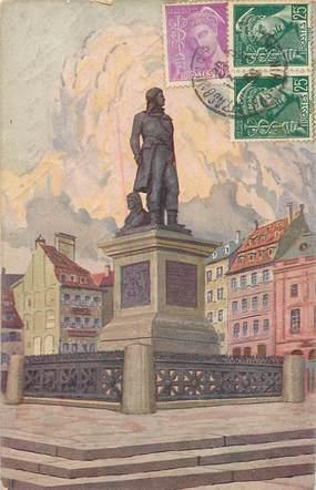 """CPA FRANCE 67 """"Strasbourg, monument Kléber"""""""