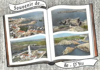 """CPSM FRANCE 85 """"Souvenir d'Ile d'Yeu"""""""