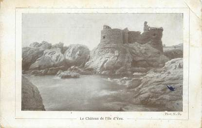 """CPA FRANCE 85 """"Le Château de L'Ile d'Yeu"""""""