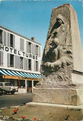 """CPSM FRANCE 85 """"Ile d'Yeu, hôtel Turbé"""""""