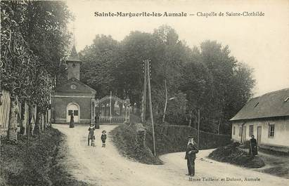 """CPA FRANCE 76 """"Sainte Marguerite les Aumale, Chapelle de Sainte Clothilde"""""""