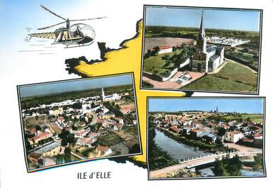 """CPSM FRANCE 85 """"Ile d'Elle"""""""