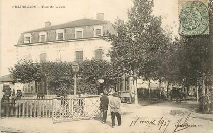""".CPA FRANCE 42 '""""Feurs, Rue de Lyon """""""