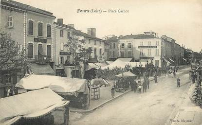 """.CPA FRANCE 42 '""""Feurs, Place Carnot """""""