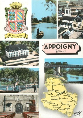 """CPSM FRANCE 89 """"Appoigny"""""""