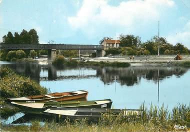 """CPSM FRANCE 89 """"Appoigny, bords de l'Yonne"""""""