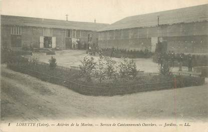 """.CPA FRANCE 42 '""""Lorette, Acieries de la Marine"""""""