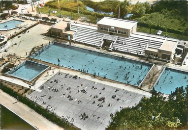 Cpsm france 89 auxerre la piscine 89 yonne for Piscine auxerre