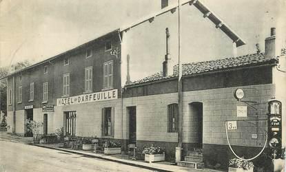 """.CPA FRANCE 42 """"L'Hôpital sous Rochefort"""", Hôtel Darfeuille"""""""