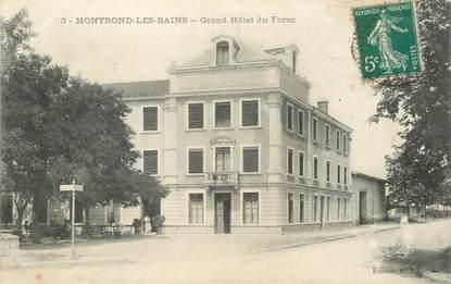 """.CPA FRANCE 42 """"Montrond les Bains, Grand Hôtel du Forez"""""""