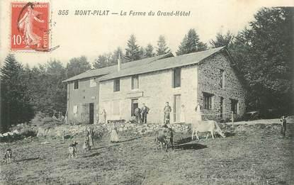 """.CPA FRANCE 42 """"Mont Pilat, La Ferme du Grand Hôtel"""""""