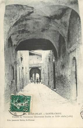 """.CPA FRANCE 42 """"Mont Pilat, Ste Croix"""""""