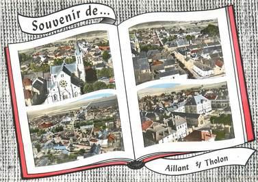 """/ CPSM FRANCE 89 """" Aillant sur  Tholon """""""