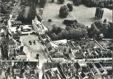 """/ CPSM FRANCE 89 """"Brienon sur Armançon, perspective aérienne sur le château"""""""