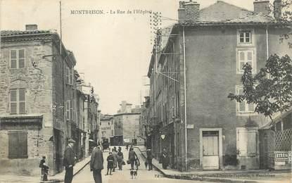 """.CPA FRANCE 42 """"Montbrison, Rue de l'Hôpital"""""""