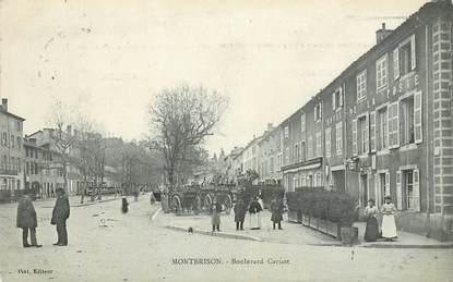 ".CPA FRANCE 42 ""Montbrison, Boulevard Carnot"""