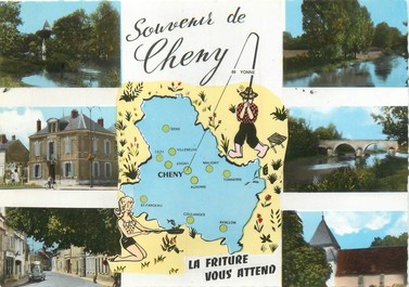"""/ CPSM FRANCE 89 """"Cheny"""""""