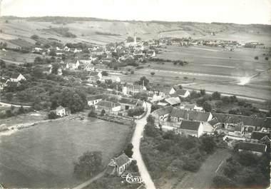 """/ CPSM FRANCE 89 """"Champvallon, vue générale aérienne """""""
