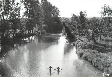 """/ CPSM FRANCE 89 """"La Chapelle Vieille Forêt, bords de l'Armançon"""""""