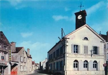 """/ CPSM FRANCE 89 """"Commissey, place de la mairie"""""""