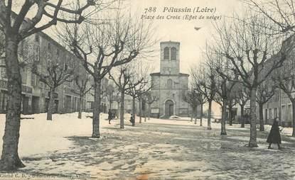 """.CPA FRANCE 42 """"Pélussin, Place des Croix """""""