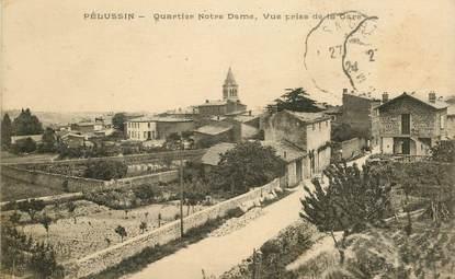 """.CPA FRANCE 42 """"Pélussin, Quartier Notre Dame"""""""