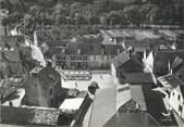 """89 Yonne / CPSM FRANCE 89 """"Flogny, la place et l'hôtel"""""""