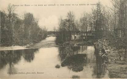 """.CPA FRANCE 42 """"Perreux, Bords du Rhin"""""""