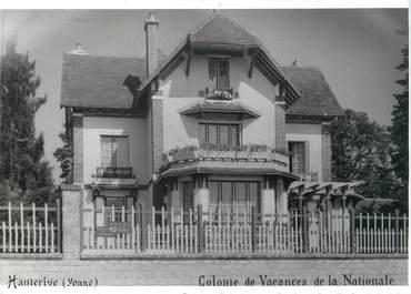 """/ PHOTO FRANCE 89 """"Hauterive, colonie de vacances de la Nationale"""""""
