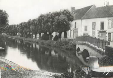 """/ CPSM FRANCE 89 """"Ligny le Chatel, le bief et le faubourg"""""""